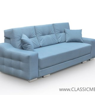 Sofa Cypis z funkcja spania i 2 poduszki – Kinas