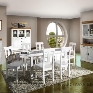 Jadalnia Toskania 2 w stylu klasycznym – LITE DREWNO – Classic