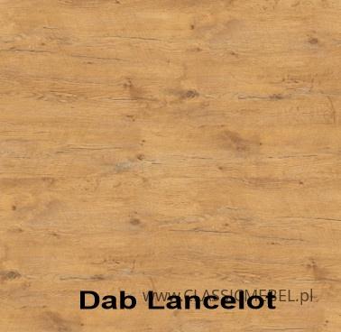Kuchnia Vigo biały połysk/dąb lancelot 260 cm - Lempert