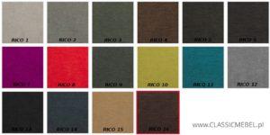 Wzornik tkanin producenta Vortilion