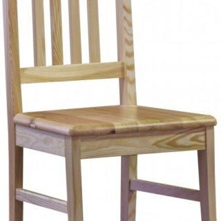 Krzesło Eris twarde/tapicerowane – Sosna – Lite Drewno – Meble Doktór