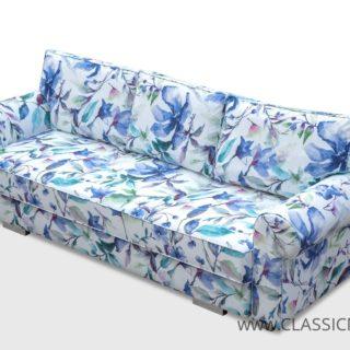 Sofa angielska Bukiet  z funkcją spania – Kinas