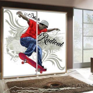 Szafa Penelopa 205 z motywem Skate 2 – Maridex
