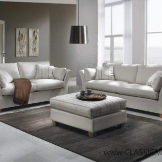 Sofa Canella 3 osobowa + Pufa Indagma – Topline