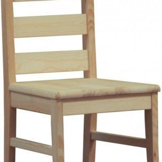 Krzesło Boston twarde / tapicerowane – Sosna – Lite Drewno – Meble Doktór