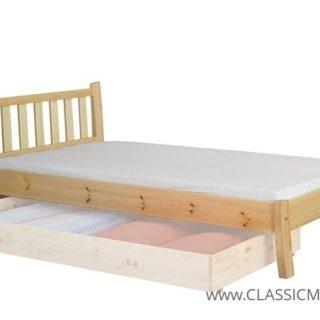 Łóżko Retro 120×200 cm – SOSNA – LITE DREWNO – Meble Doktór