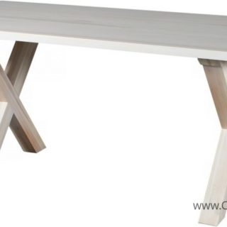 Stół Retro Nierozkładany 180 – SOSNA – LITE DREWNO –  Meble Doktór