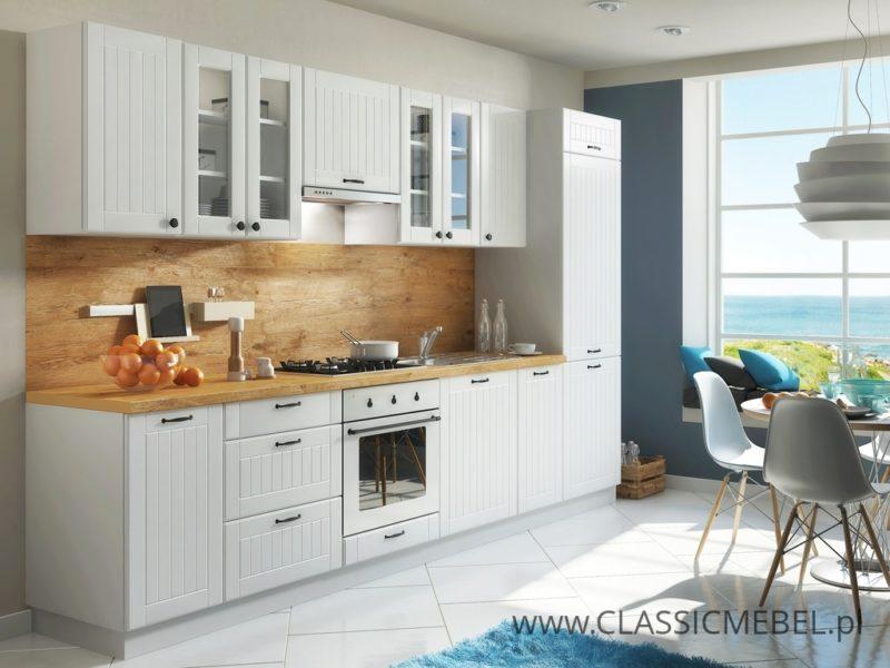 Kuchnia Lora 05 w stylu prowansalskim 320 cm - Layman
