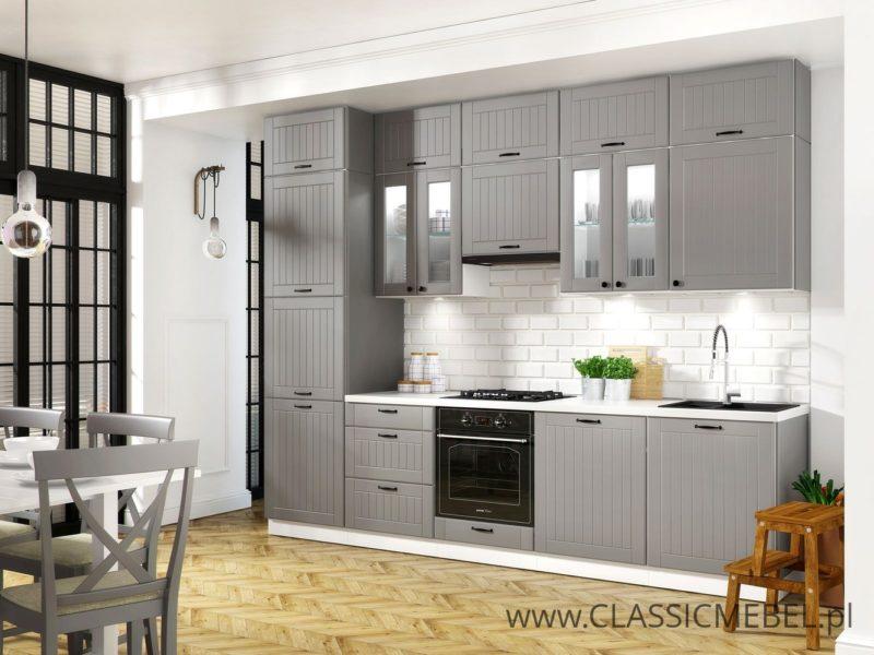 Kuchnia Lora 04 w stylu prowansalskim 300 cm - Layman