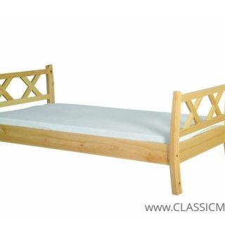 Łóżko Modern 120 x 200 – SOSNA – LITE DREWNO – Meble Doktór