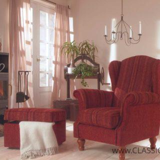 Fotel Lisa + Pufa Mini – Topline