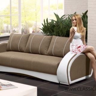 Sofa CHER 3 z funkcją spania z pojemnikiem – Kinas