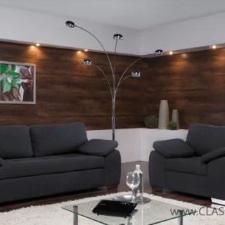 Zestaw Enzo 3 osobowy z funkcją spania i fotel – Meblar
