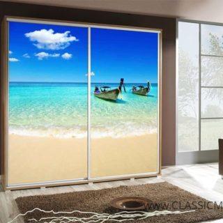 Szafa Penelopa 205 z motywem Plaża 2 – Maridex
