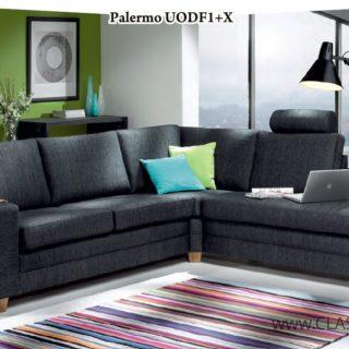 Narożnik Palermo U-O-D-F1-X (zagłówek) + Roletka – Topline