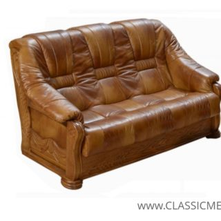 Stylowa sofa Lord 3 osobowa – skóra naturalna – Classic