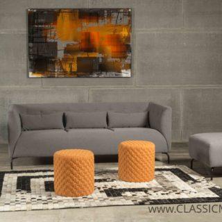 Zestaw Coccon sofa 3 osobowa + Pufa Coccon – Topline