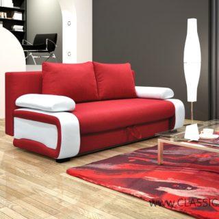Sofa V8 z funkcją spania z pojemnikiem – Kinas