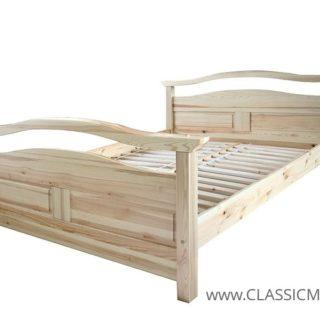 Łóżko Delta 160 x 200 – SOSNA – LITE DREWNO – Meble Doktór