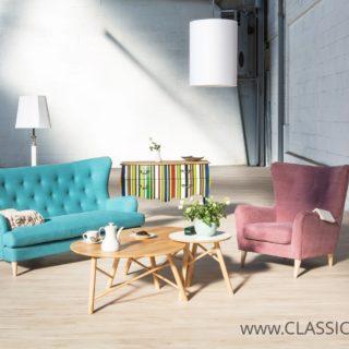 Sofa Enjoy 3 + Fotel Molly – Topline