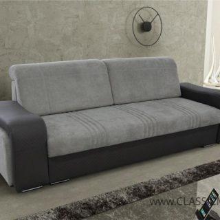 Sofa Cuba z funkcją spania i dwie pufy Gratis! – Arkos