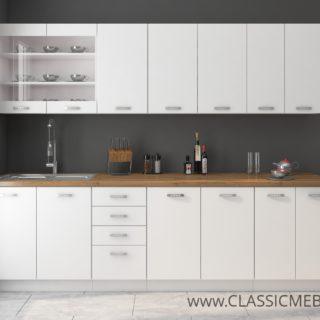 Meble Kuchenne Eko White Zestaw 260 cm  – Lempert