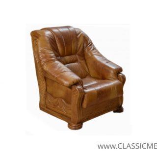 Stylowy fotel Lord – skóra naturalna – Classic