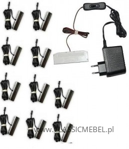 Oświetlenie LED Meblościanka Rumba XL