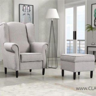 Fotel Tom + pufa – Arkos