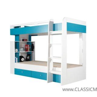 Łóżko piętrowe Mobi 19 + 2 materace  – Meblar