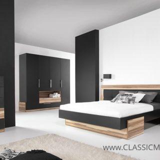 Sypialnia Morena zestaw B z Łóżkiem 160×200 – Meblar