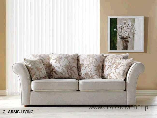 Sofa Classic Living 3/FS z funkcją spania - Topline