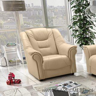 Stylowy Fotel Milano – skóra naturalna – Classic