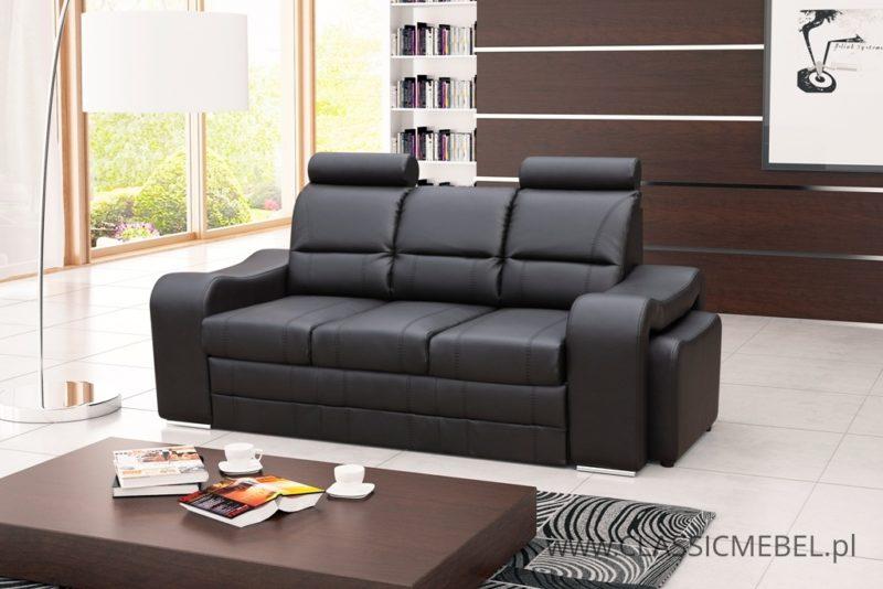 Sofa Wenus + 2 pufy gratis z funkcją spania - Kinas