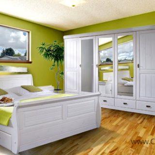 Sypialnia Julia  w stylu klasycznym – LITE DREWNO – Classic