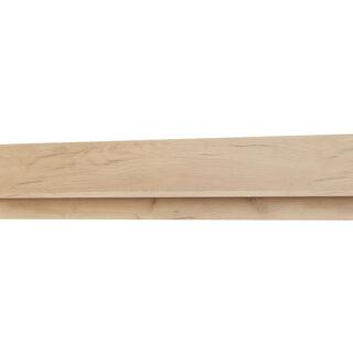Półka wisząca Xelo Dąb Craft Złoty