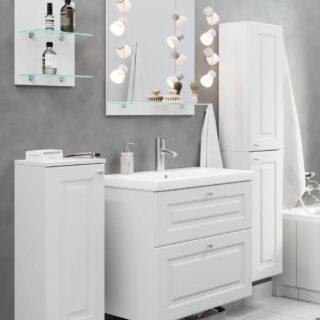Meble Łazienkowe Bella Mare Biały Super Mat Premium